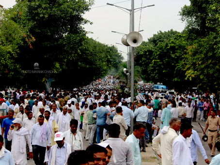 HARYANA EMPLOYEES MAKE PANCHKULA AGAIN THE CENTRE OF PROTEST