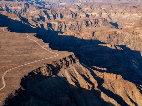 Experiencing Namibia's Fish River Canyon from Above