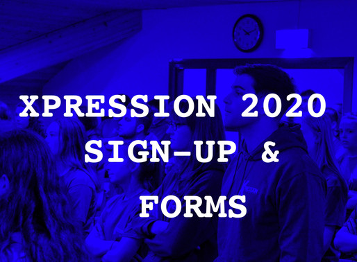XP2020 SIGN-UP DETAILS & FORMS