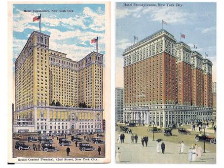 Compleanno centenario per due tra i piu' famosi hotels di New York.