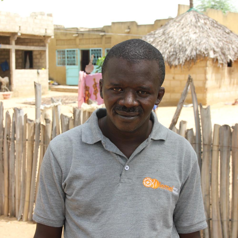Bacary Sarr - Solar Technician, iLEMEL in Dakar