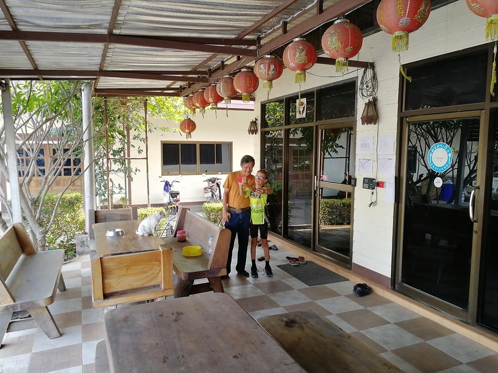 Tour du monde à vélo en famille Thailande