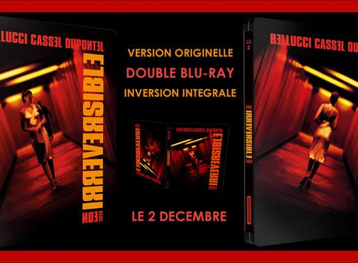StudioCanal officialise le steelbook d'Irréversible : le 2 décembre.