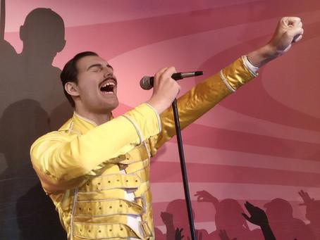 Freddie Mercury's not-so-rhetorical question