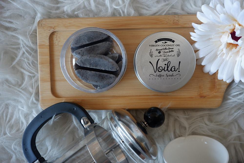 Voila! Coffee Scrub Bar