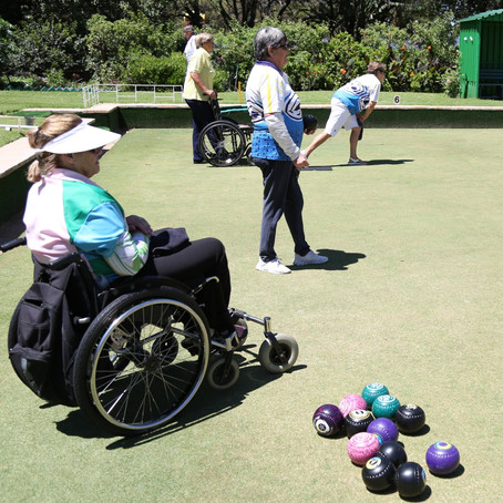 Bryanston Sports Club Bowls supports a good cause