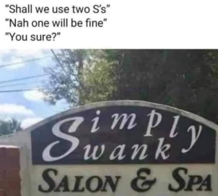 Hilarious Business Signs