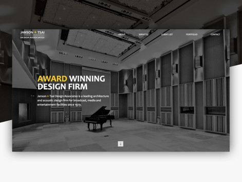 Web Design Agency Specializes in Custom Design for Built Environment