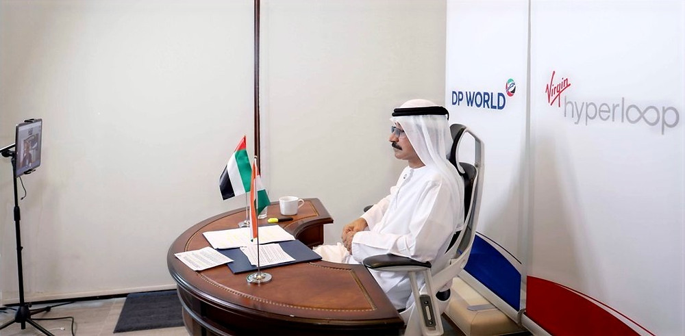 Sultan bin Sulayem, Chairman of Virgin Hyperloop and Group Chairman and CEO of DP World