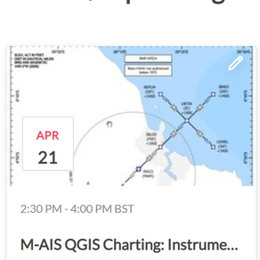 QGIS for Instrument Approach Charts?