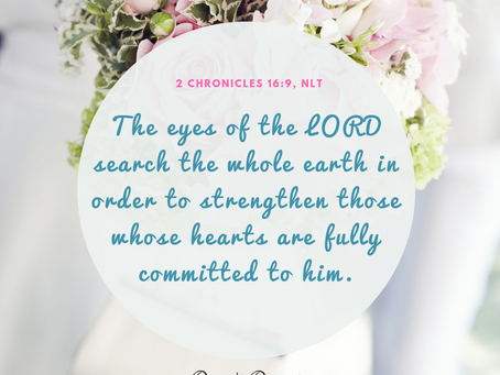 The eyes of the Lord