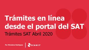 Zcanit Soporte: Trámites que puedes hacer desde el portal oficial del SAT.