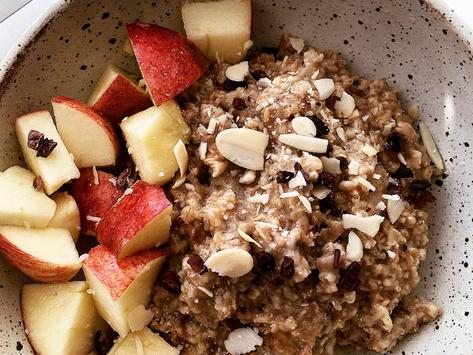 Apple Oatmeal Bowl Recipe