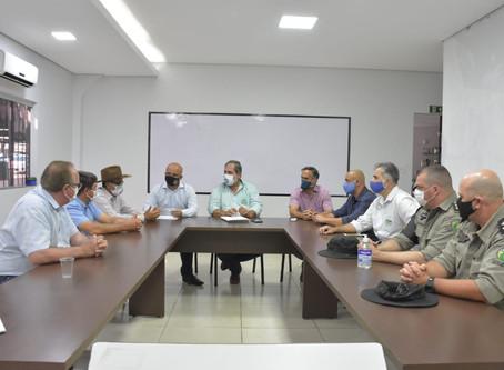 REUNIÃO COM DEPUTADO VITOR HUGO