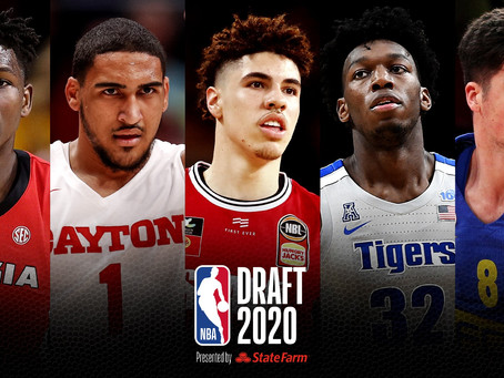 This League! Here is your 2020 NBA Offseason Tracker; Part 2 – Draft Recap