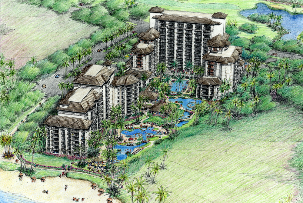 Beach Villas Beachfront Ko Olina Oahu Hawaii