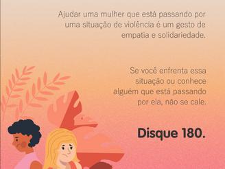 25 de novembro - Dia Internacional de Combate à Violência Contra a Mulher