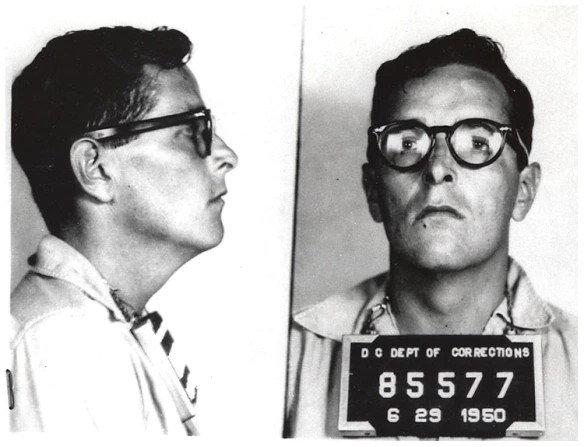 blacklisted member of the hollywood ten ring lardner jr mugshot
