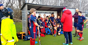 U14 Boys go close in New Year's match up