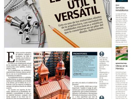 El País | El cobre, útil y versátil
