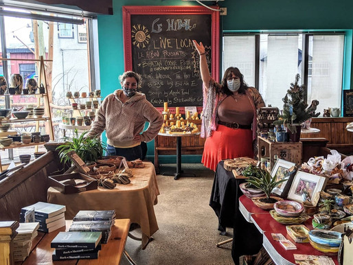 NEW pop-up artisan market - until Christmas