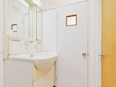 築古の洗面所でも清潔感は出る
