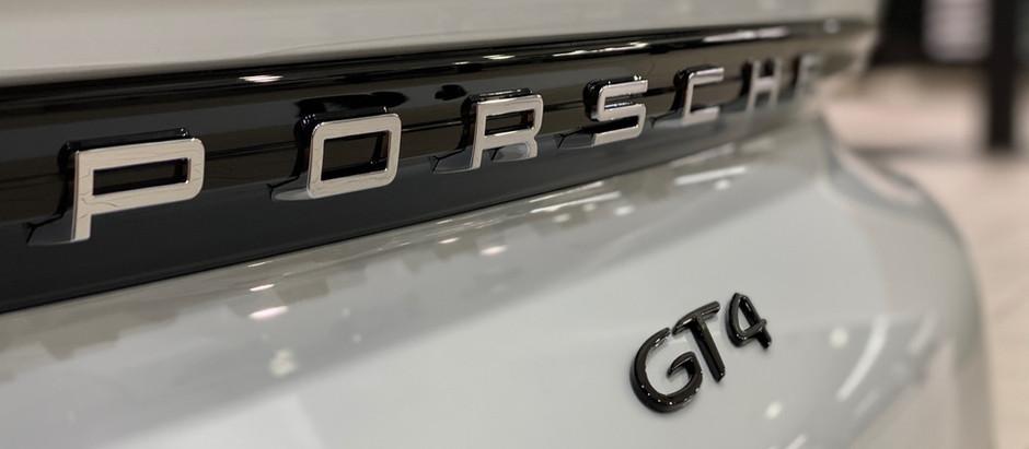 2020 Porsche GT4 Side Scoop Removal