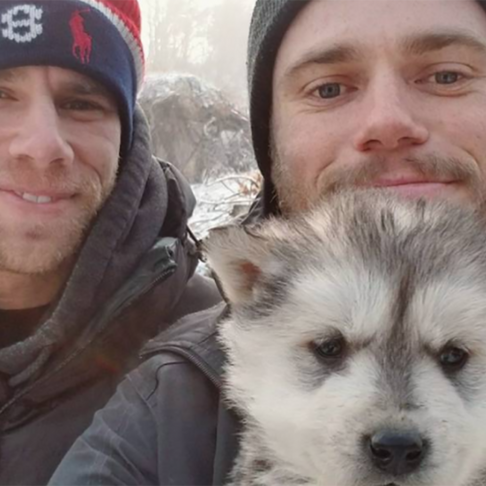 Olympics Skier Gus Kenworthy, Who Adopted 2 Sochi Dogs, Rescues Puppy from Korean Dog Meat Farm