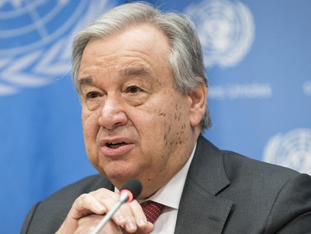 United Nations: World Humanitarian Day Message from António Guterres
