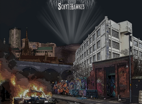 The Schytehawkes - 'Streets of Rage' EP - (Crossover Thrash)