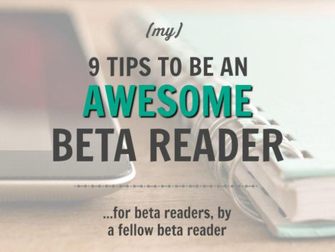 How to be a Beta Reader