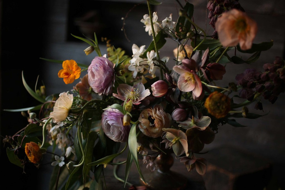 Zero Waste Floral Arrangements | Sustainable Fall Decor | Eco-Friendly Interiors |Design w Care