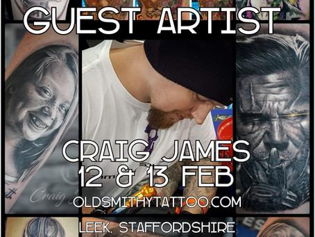 Craig James - Guest Artist - 12th & 13th Feb 2019