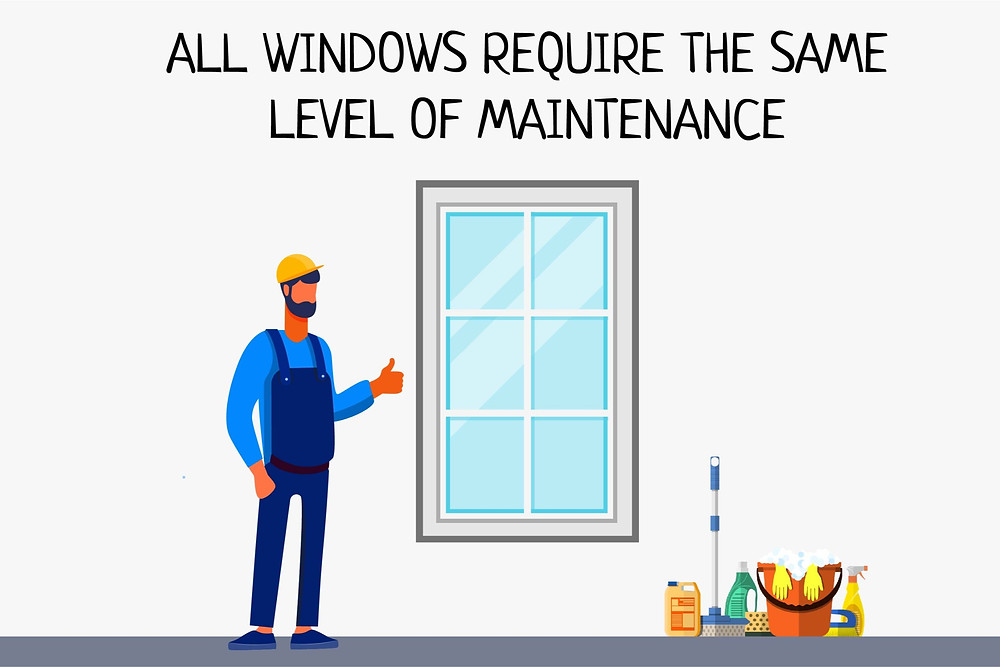 upvc-windows-do-not-require-the-same-level-of-maintenance-as-wood-or-pvc-windows
