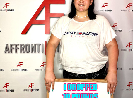 I Dropped 10 Pounds In My First Month Of Training!!!