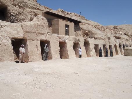 Новые гробницы найдены в Фивах
