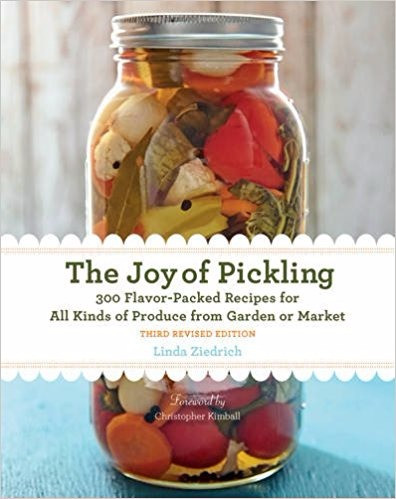 Book The Joy of Pickling by Linda Ziedrich
