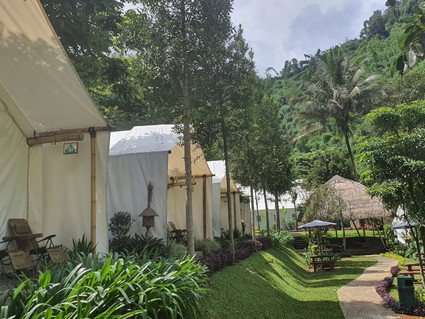 Maribaya Resort, Pilihan Tepat Glamping Bandung