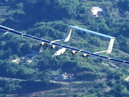 China high-tech | solar energy driven unmanned aircraft