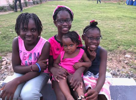 Meeting my sisters