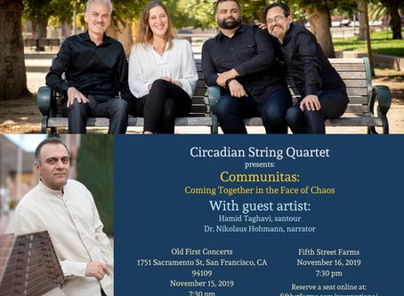Come see David's Quartet!