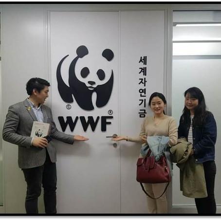 WWF와 어스아워(EARTH HOUR) 콜라보
