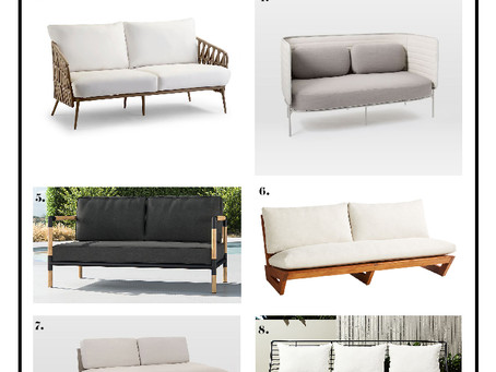 10 Outdoor Sofas That Are Meant For Lounging.