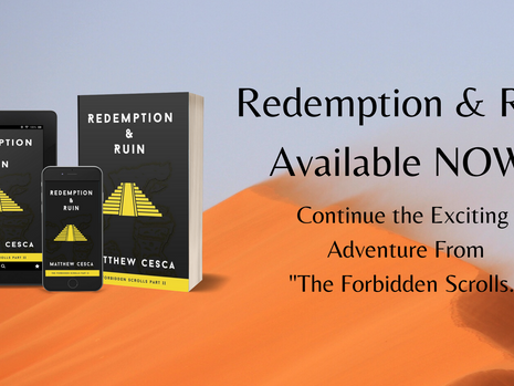 Redemption & Ruin Available NOW!