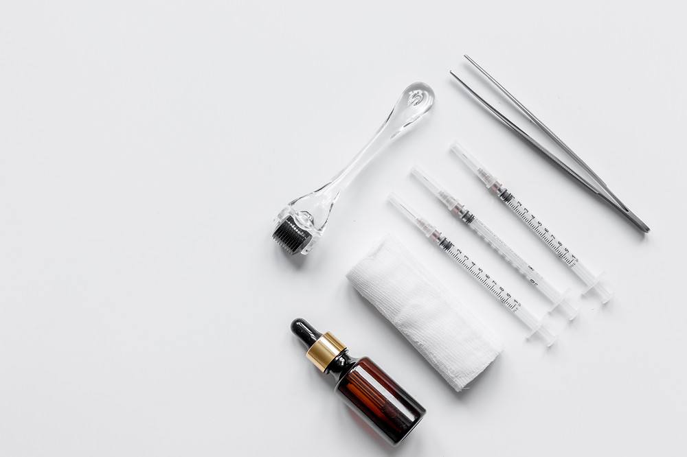 Mesotherapy Sermorelin B12 HCG Injection Acupuncture Sauna
