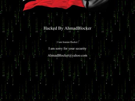 Unsere alte Homepage wird gehackt :(