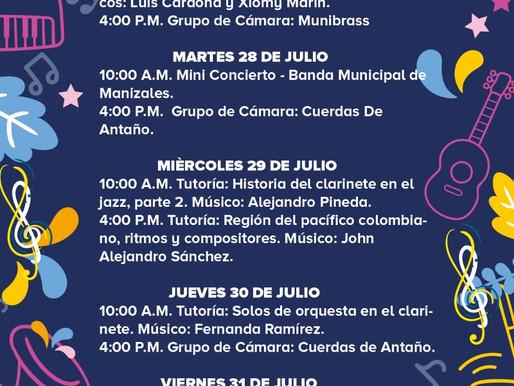 PROGRAMACIÓN BANDA MUNICIPAL DE MANIZALES