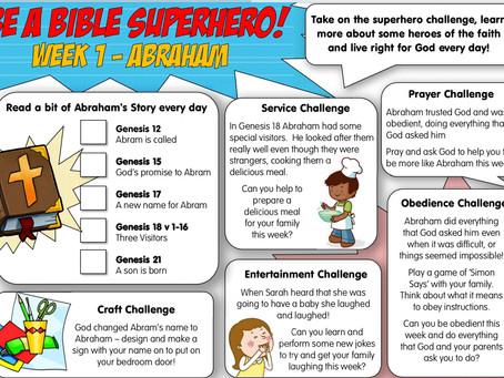 Bible Superhero- Abraham
