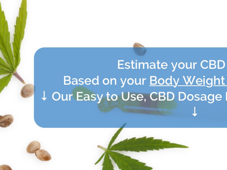 CBD Dosage Calculator is a great place to start!