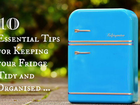 10 Essential Tips for Keeping your Fridge Tidy and Organised …